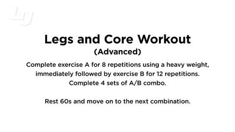 Thumbnail for entry Legs & Core (Advanced)