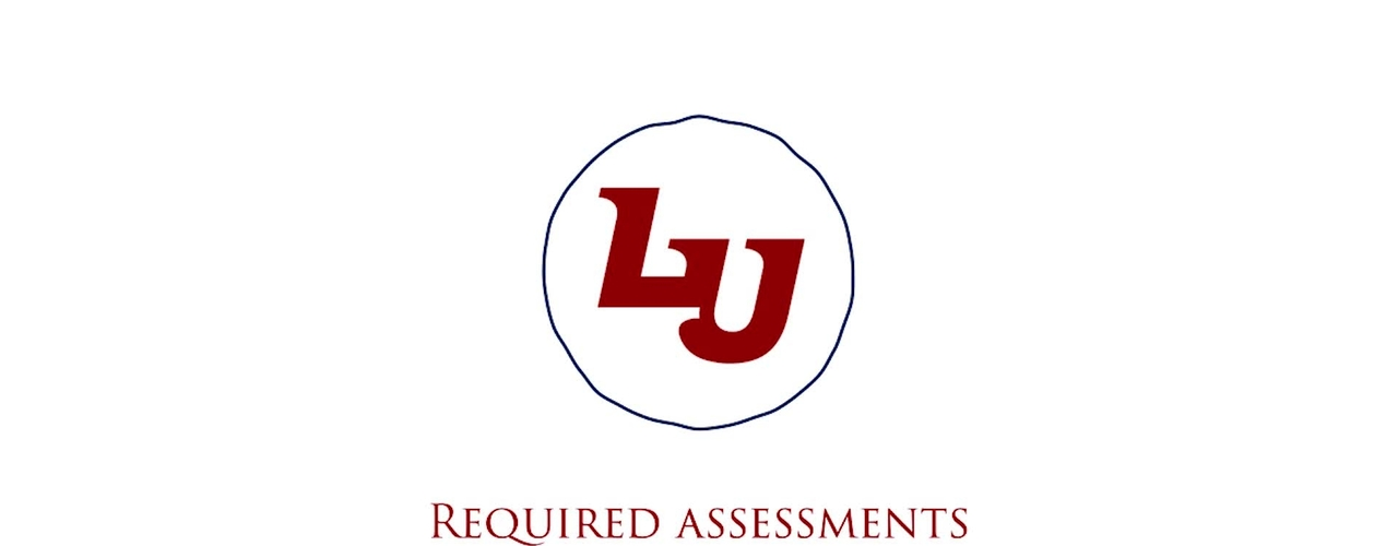 Required Assessments