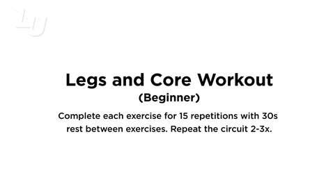 Thumbnail for entry Legs & Core (Beginner)