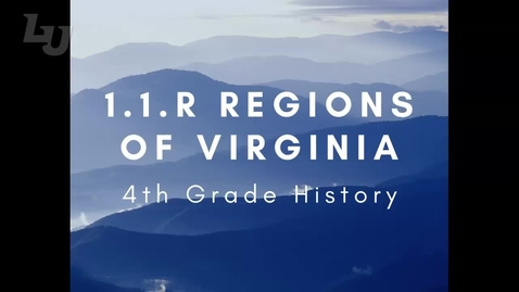 Thumbnail for entry HIS0400 1.1.R Regions of Virginia