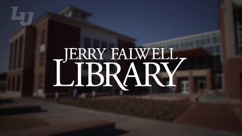 Thumbnail for entry New Jerry Falwell Library  Website