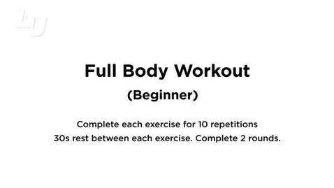 Thumbnail for entry Full Body Beginner