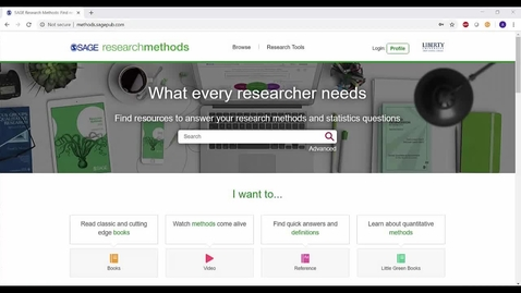 Thumbnail for entry Introduction to Sage Research Methods
