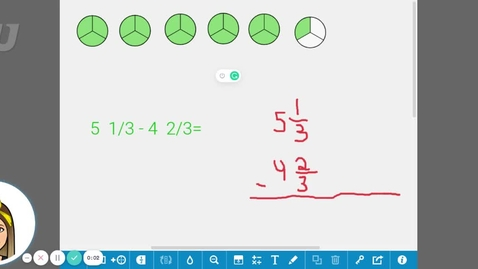 Thumbnail for entry MAT0400 7.24.F  Quiz Subtracting Mixed Numbers