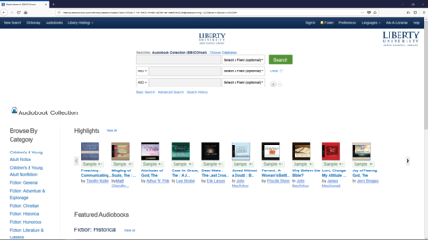 Thumbnail for entry EBSCO AudioBook Tutorial