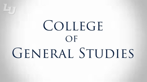 Thumbnail for entry College of General Studies