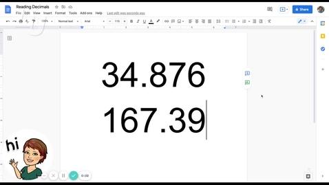 Thumbnail for entry MAT0400 1.3.F Reading Decimals Reteach