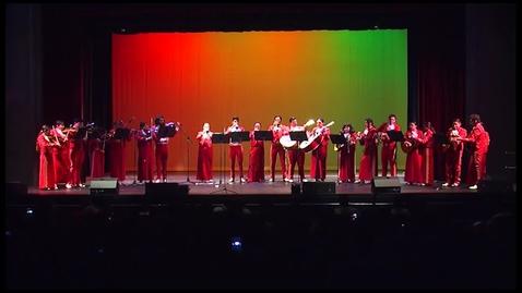 Thumbnail for entry Mariachi Los Santos at Santa Ana High School