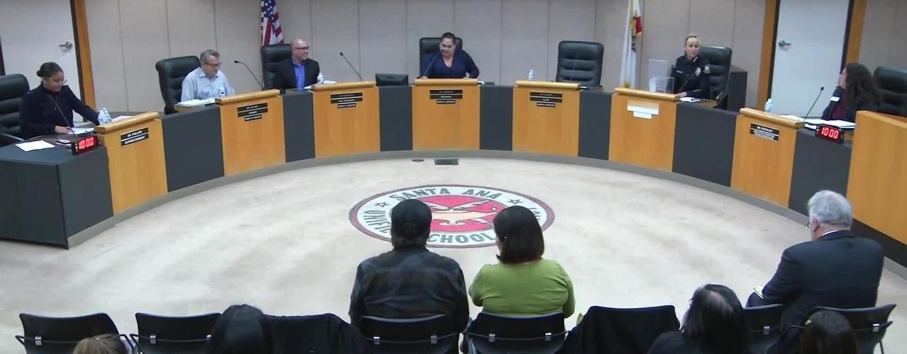 SAUSD Special Board Meeting January 8, 2019
