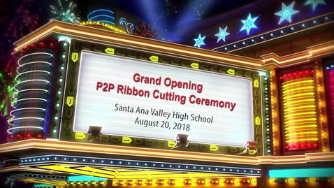 Thumbnail for entry Grand Opening P2P Ribbon Cutting Ceremony