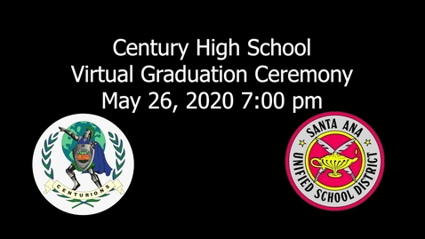 Thumbnail for entry Century High 2020 Graduation Ceremony
