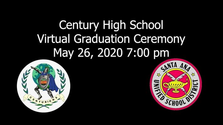 Century High 2020 Graduation Ceremony