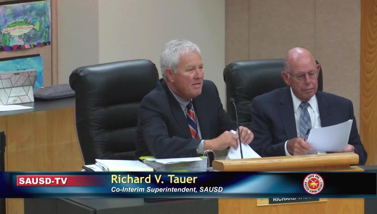 Superintendent Report August 27, 2019