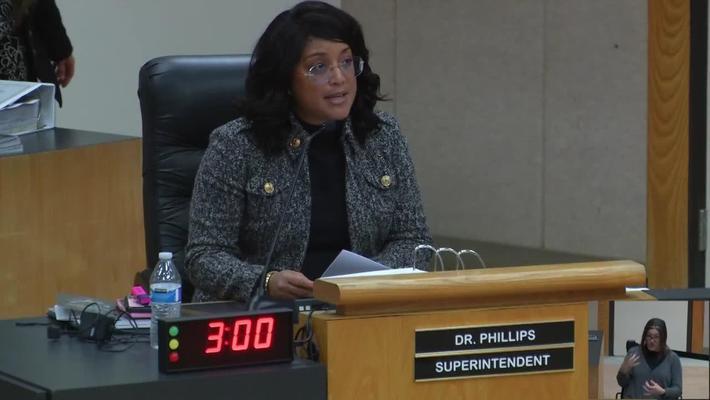 Superintendent Stefanie Phillips, Ed.D. Report to SAUSD School Board, February 12, 2019