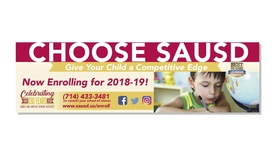 Thumbnail for entry Enrollment is Open for SAUSD Schools - 2018-19