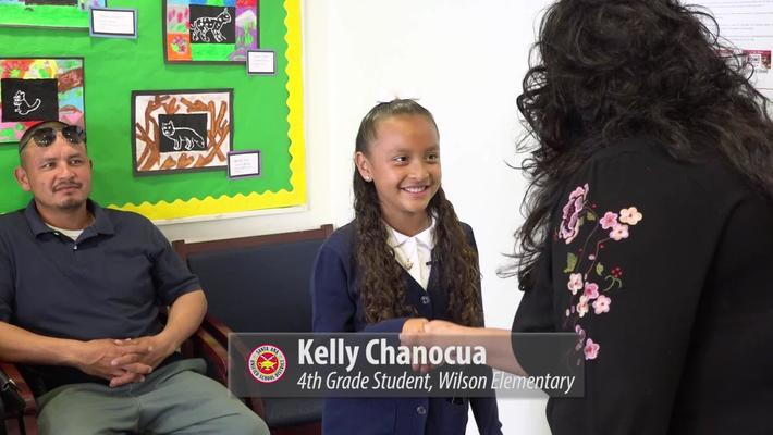 Wilson Elementary Tour with Kelly Chanocua