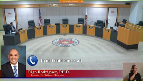 Thumbnail for entry SAUSD Board Meeting  May 26, 2020