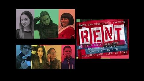 Santa Ana High School Presents RENT Part 1