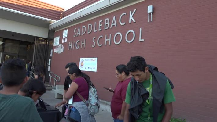 College Night at Saddleback High School February 2, 2019