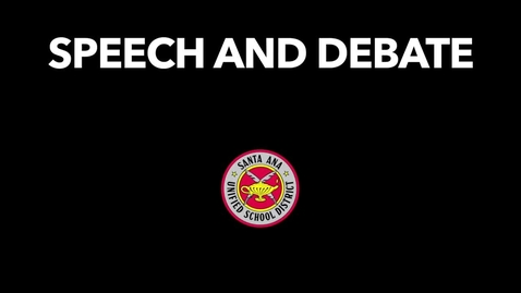 Thumbnail for entry Speech & Debate Nationals Summer 2018 [SAUSD]