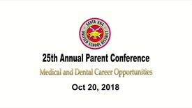 Thumbnail for entry 25th Annual Parent conference