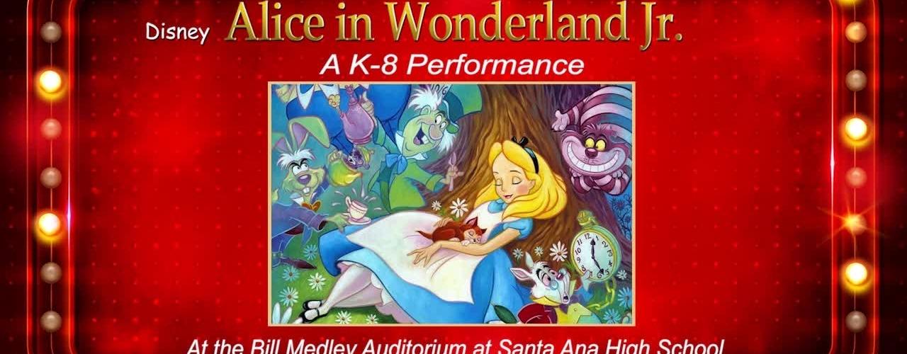 Disney Alice in Wonderland Jr.
