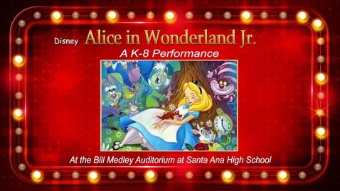 Thumbnail for entry Disney Alice in Wonderland Jr.