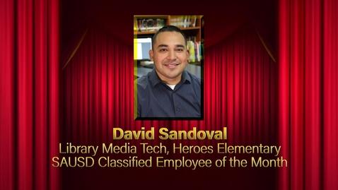 Thumbnail for entry David Sandoval