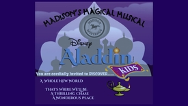 Thumbnail for entry Highlights of Madison Elementary Disney's Aladdin Kids
