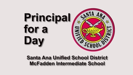 Thumbnail for entry SAUSD Principal for a Day 2017