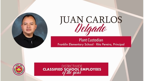 Thumbnail for entry Juan Carlos 2019