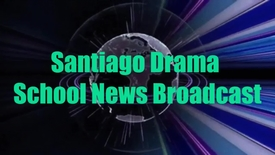 Thumbnail for entry Santiago Drama School News Broadcast