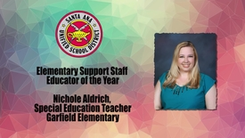 Thumbnail for entry Teacher of the Year 2017 Nichole Aldrich