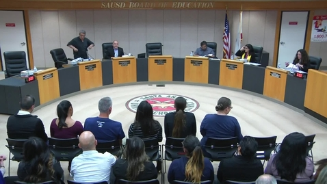 Thumbnail for entry SAUSD Board Meeting April 24, 2018