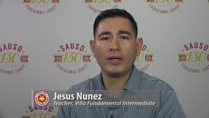 Jesus Nunez Teacher, Vila Fundamental Intermediate