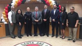 Thumbnail for entry Message from Superintendent Dr. Stefanie Phillips Regarding Santa Ana School Police Chief Swear-In