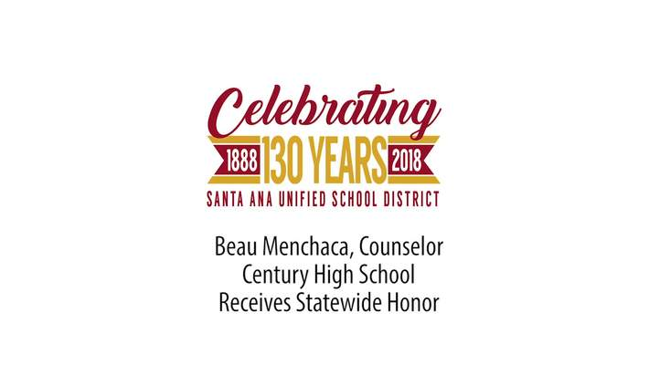 Beau Menchaca, CHS,  Receives Marmaduke Award for California May 28, 2017