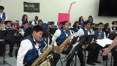 Thumbnail for entry Musician Mark Ronson visits Sierra Preparatory Academy [SAUSDTV]