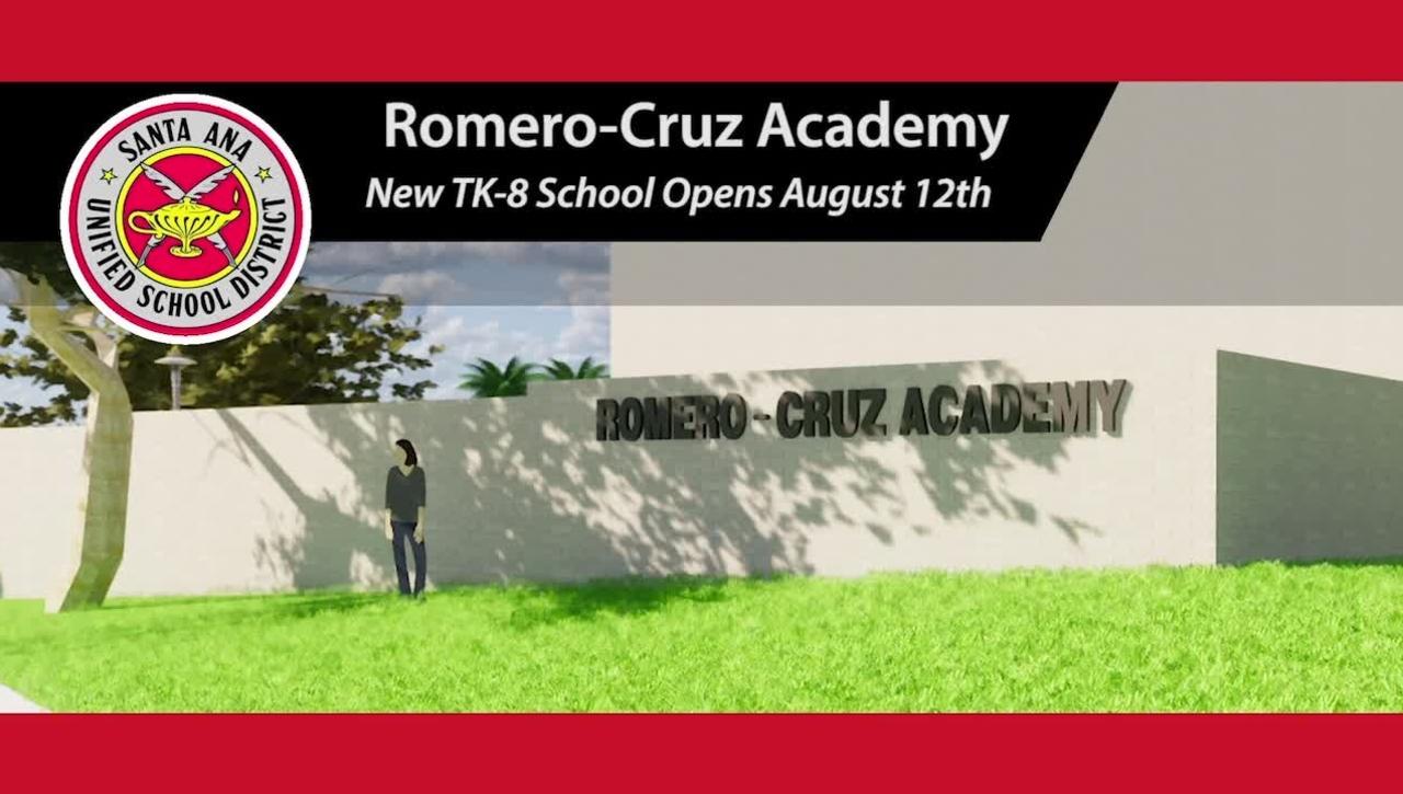 Romero-Cruz Academy New TK-8 School
