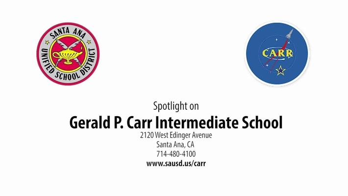 Spotlight on Carr Intermediate 2019