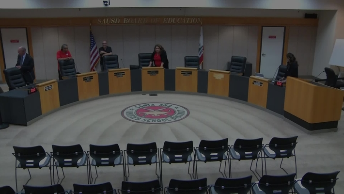 SAUSD Board Meeting  September 24, 2019