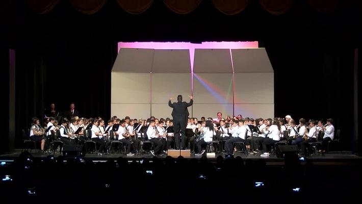 SAUSD Honor Band Concert at S.A. Valley H.S 2018