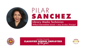 Thumbnail for entry Classified Employee of the Year [2018-19] Pilar Sanchez, WIllard