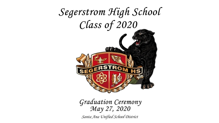 Segerstrom  High 2020 Graduation Ceremony