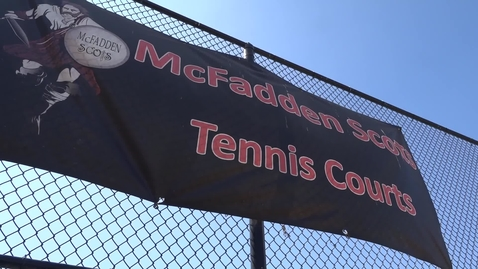 Thumbnail for entry Adaptive Tennis Event at McFadden Intermediate