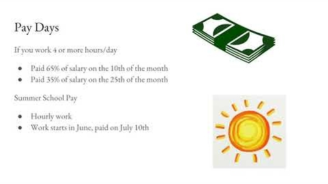 Thumbnail for entry Pay Days including Timecards