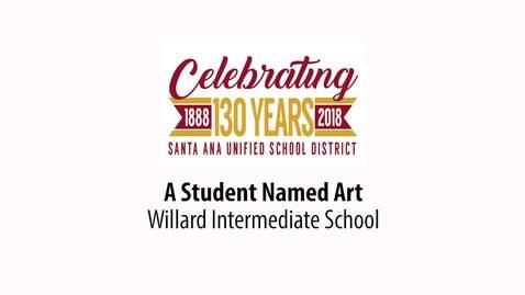 "Willard Turnaround Arts ""Student Named Art"" 2018"