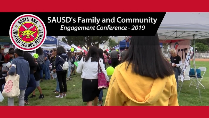 SAUSD's 2019 Family and Community Engagement Conference