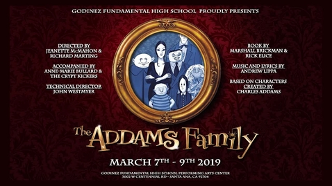 Thumbnail for entry  The Addams Family Part 1