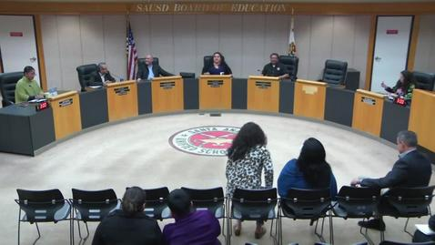 Thumbnail for entry SAUSD Special Board Meeting February 8, 2019